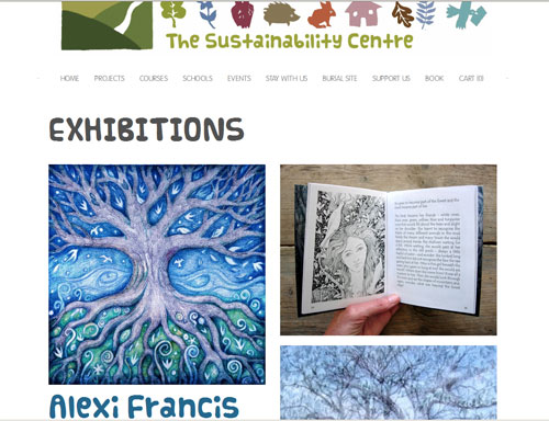 Exhibition at The Sustainability Centre