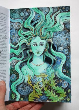 Sea Grotto Altered Book page4