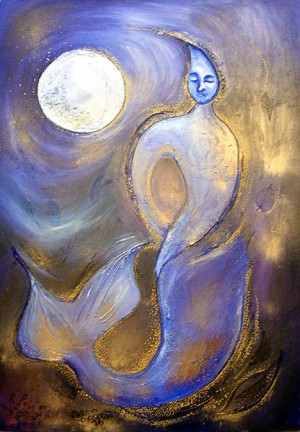 Sea Moon Goddess