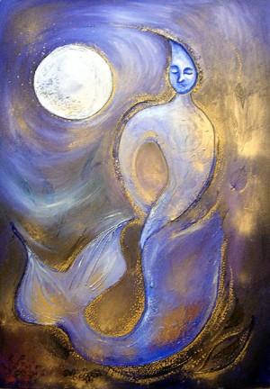 Sea Moon Goddess
