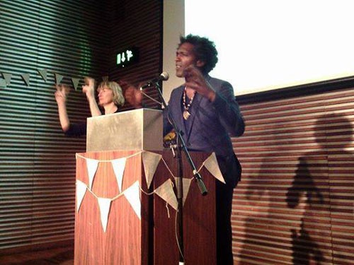 Lemn Sissay and the Sign Reader