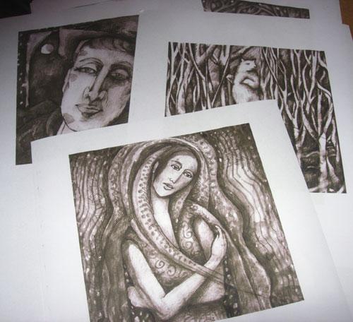 Sepia Printouts