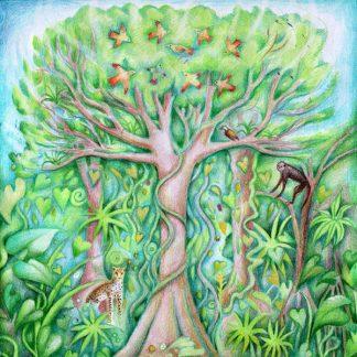 Singing Tree Card