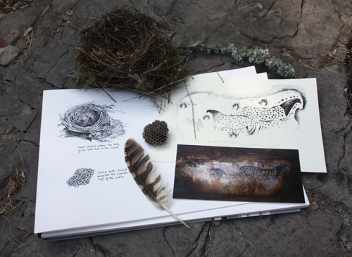 Sketchbook and Finds