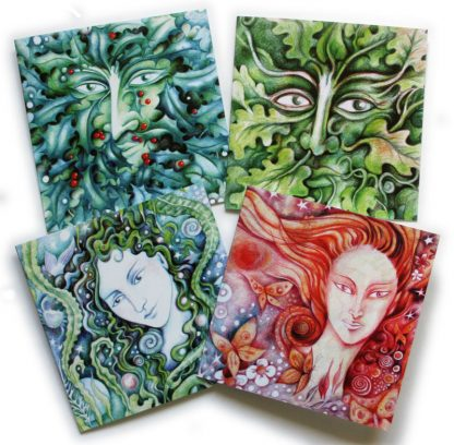Spirits of Nature Greetings Cards