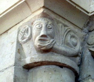 Carving in St Nicolas' Church