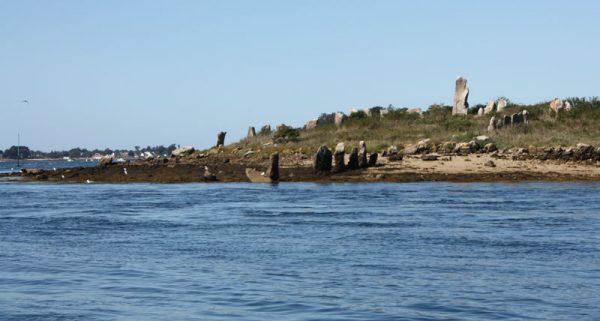 Er Lannic submerged stone circle