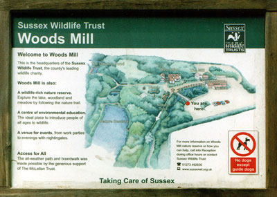 Interpretation Board - Map