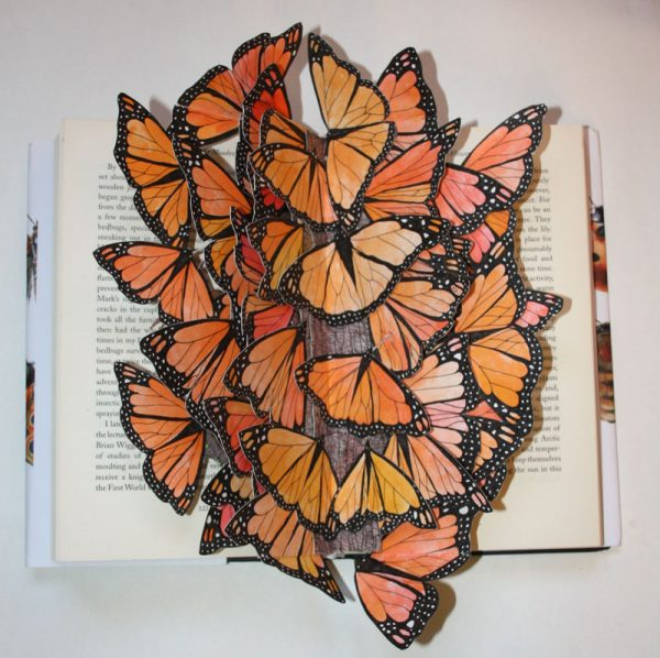 The Butterfly Tree Altered Book