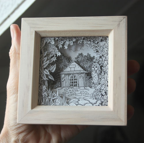 The Cabin of Quercy Box Frame