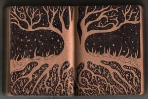 Tree - diary drawing