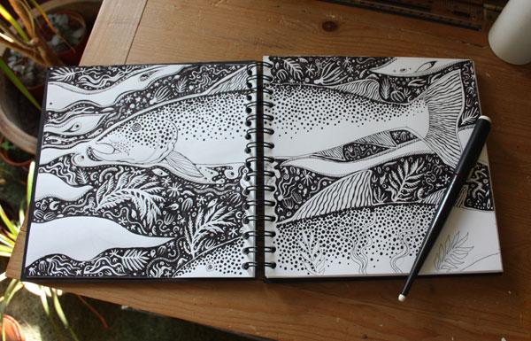 Sea Trout Sketchbook