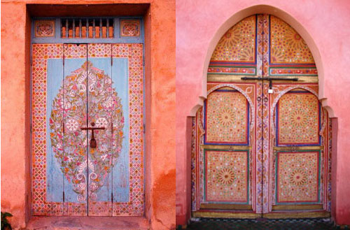 Two Moroccan Doors