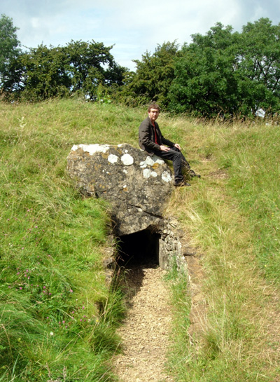 Uley Long Barrow Entrance