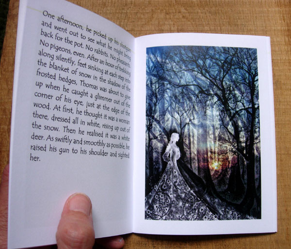 The White Hind Book Inside