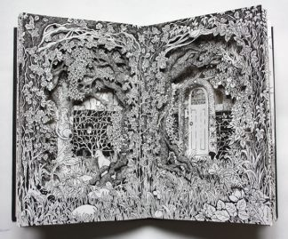 Wild Garden Altered Book